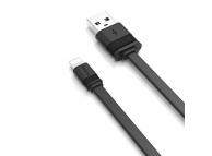 Cablu Date si Incarcare USB la Lightning Proda Fenche PD-B17i, 3A, 1 m, Negru, Blister