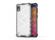 Husa Plastic - TPU OEM Shockproof Honeycomb pentru Samsung Galaxy A10 A105, Transparenta, Bulk
