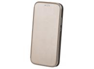 Husa Piele OEM Elegance Universala pentru Telefon 5,6 - 6,0 inci, 159 x 78 mm, Aurie, Bulk
