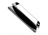 Folie Protectie Ecran Hammer Apple iPhone 8 Plus, Sticla securizata, Full Glue, 3D, 9H, Neagra, Blister