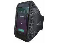 Husa Armband Adidas Sport SS17 pentru Apple iPhone 7 / Apple iPhone 8 / Apple iPhone SE (2020), Neagra