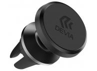 Suport Auto Universal pentru telefon DEVIA Titan Magnetic Vent, Negru, Blister