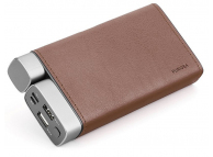 Baterie Externa Powerbank Puridea X02 26000 mA, 2 x USB, Maro, Blister