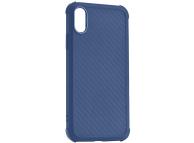 Husa TPU Roar Armor Carbon pentru Apple iPhone XR, Bleumarin, Blister