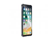 Husa Aluminiu OEM Magneto Frame cu spate din sticla pentru Apple iPhone 7 Plus / Apple iPhone 8 Plus, Neagra, Blister