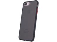 Husa TPU OEM Colored Buttons pentru Apple iPhone 7 Plus / Apple iPhone 8 Plus, Neagra, Bulk