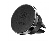 Suport Auto Universal Baseus Small Ears Magnetic Vent Mount, Leather Type, Negru, Blister SUER-E01