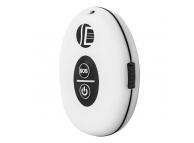 Mini GPS Tracker OEM TK201, Localizare GPS / AGPS / GSM / GPRS, Buton SOS, Alb