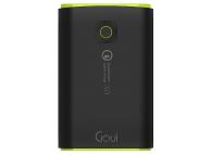 Baterie Externa Powerbank Goui Taya+, Quick Charge 3.0 18W, 10200 mA, 2 x USB, Neagra, Blister G-EBQ12K01K