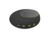 Difuzor portabil Bluetooth Goui Sambi cu incarcare Fast Wireless 10W (QI) si baterie externa, Neagra, Blister G-SPEEKERWIRE4-K