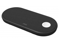Incarcator Retea Wireless pentru Apple iPhone / Watch / Airpods UNIQ Aereo Fast Charging, Negru