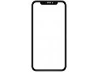 Geam Ecran cu rama si adeziv OCA Apple iPhone XR Negru