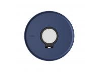 Suport cu organizator pentru dock incarcare Apple Watch UNIQ Dome, Albastru, Blister