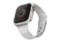 Husa TPU pentru Apple Watch Series 5/4, 44mm Uniq Valencia, Gri Blister