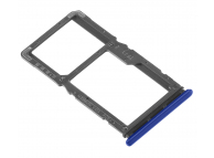 Suport Card - Suport SIM Albastru Xiaomi Redmi Note 7