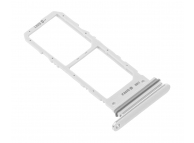 Suport SIM 1 / 2 Argintiu (Aura White) Samsung Galaxy Note 10 N970 Dual SIM