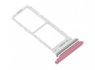 Suport SIM 1/2 Roz (Aura Pink) Samsung Galaxy Note 10 N970 Dual SIM