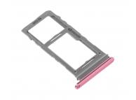 Suport Card - Suport SIM Roz (Aura Pink) Samsung Galaxy Note 10+ N975 Dual SIM