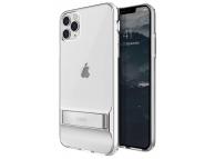 Husa TPU UNIQ Cabrio pentru Apple iPhone 11 Pro Max, Cu suport reglabil, Transparenta, Blister