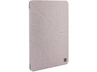 Husa Textil UNIQ Kanvas Plus pentru Apple iPad Air (2019), Bej, Blister