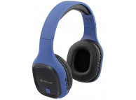 Handsfree Casti Bluetooth Tellur Pulse Over-ear, Cu microfon, SinglePoint, Albastru TLL511281
