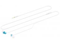 Handsfree Casti In-Ear Tellur Magiq, Cu microfon, 3.5 mm, Turquoise - Alb, Blister TLL162222