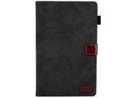 Husa Tableta Piele OEM Business Style cu suport card si rama foto pentru Samsung Galaxy Tab A 10.5 T590, Neagra, Bulk