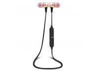 Handsfree Casti Bluetooth Awei Sport A920BL, cu microfon, MultiPoint, Auriu, Blister