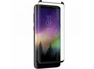 Folie Protectie Ecran Zagg pentru Samsung Galaxy S8+ G955, Sticla securizata, Full Face, Invisible SHIELD, Blister