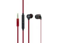 Handsfree Casti In-Ear Goji Berries, Cu microfon, 3.5 mm, Rosu, Bulk GBER2RD16