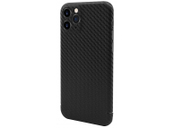 Husa Fibra Carbon Nevox pentru Apple iPhone 11 Pro Max, Magnet Series, Neagra, Blister