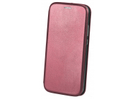 Husa Piele OEM Elegance pentru Apple iPhone 11 Pro Max, Visinie, Bulk
