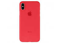 Husa Plastic Goospery Mercury Ultra Skin pentru Apple iPhone X / Apple iPhone XS, Rosie, Blister