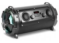 Boxa Bluetooth Rebeltec SoundTube 190, 2 x Woofer + 2 x Difuzor, Led-uri, 30W, Neagra, Blister