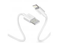 Cablu Date si Incarcare USB la Lightning Dudao L1L, 3A, 1 m, Alb