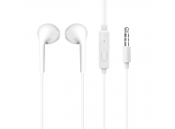 Handsfree Casti EarBuds Dudao X10S, Cu microfon, 3.5 mm, Alb, Blister