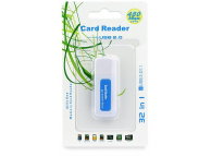 Cititor Card OEM All in One HR-CR001 Alb Bleu Blister
