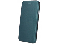 Husa Piele OEM Elegance Universala pentru Telefon 5,1 - 5,5 inci, 153 x 77 mm, Verde, Bulk