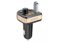 Emitator FM Bluetooth si MP3 Player Auto cu buton Apel Dudao R2Pro, Negru Auriu, Blister