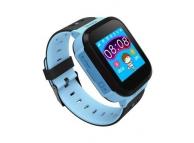 Ceas Smartwatch Kids K01, Localizare GPS, Bleu, Blister