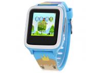 Ceas Smartwatch Kids X02S, Localizare GPS, Bleu, Blister