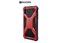 Husa Plastic - TPU Mocolo Urban Defender pentru Apple iPhone X / Apple iPhone XS, Rosie, Blister