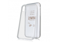 Husa TPU OEM 2mm pentru Samsung Galaxy A40 A405, Transparenta, Blister