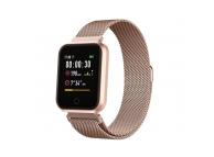 Ceas Smartwatch Forever ForeVigo SW-300, Roz-Auriu, Blister