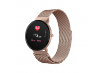 Ceas Smartwatch Forever ForeVive SB-320, Roz-Auriu, Blister