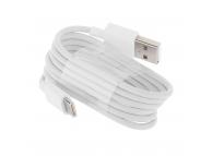 Cablu Date si Incarcare USB la USB Type-C Xiaomi, 1 m, Alb