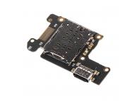 Banda Cu Conector Incarcare / Date - Modul Cititor SIM - Microfon Xiaomi Mi 9T