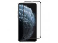 Folie Protectie Ecran Totu Design pentru Apple iPhone 11, Sticla securizata, Full Face, Full Glue, Anti Dust, Neagra, Blister
