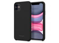 Husa Plastic Spigen Fit pentru Apple iPhone 11, Neagra, Blister