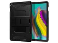 Husa Tableta Plastic Spigen Tough Armor Tech pentru Samsung Galaxy Tab S5e, Neagra, Blister